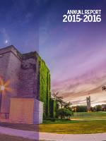 Cover of the 2015-16 Student Experience Annual Report.