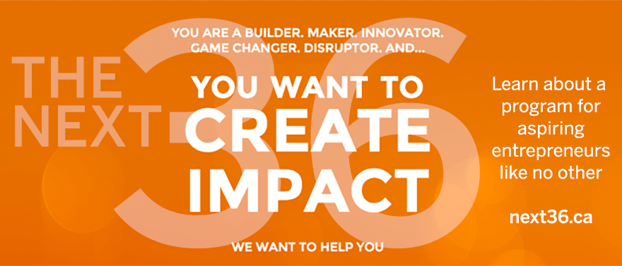 Create an impact - Apply to be part of The Next 36